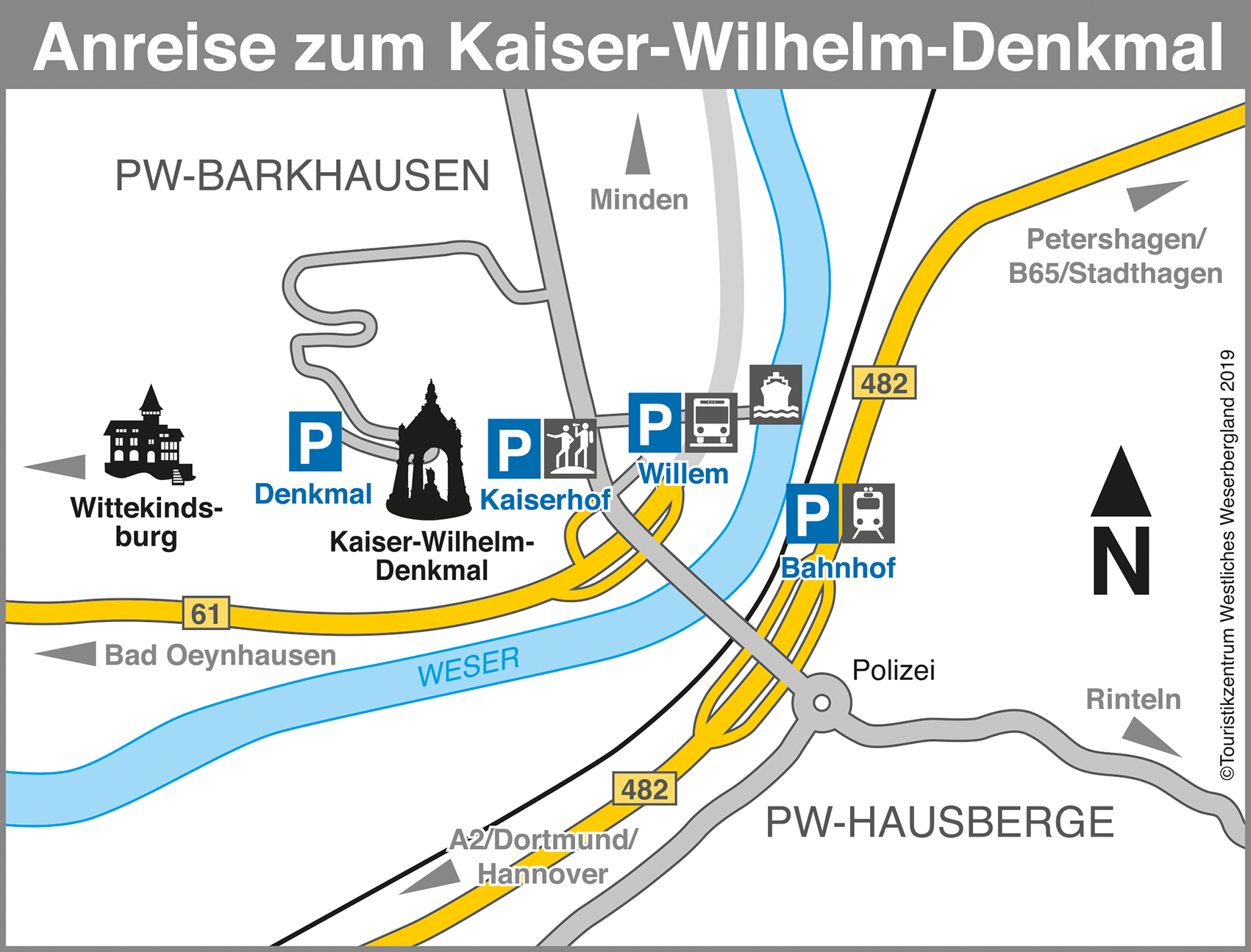 Kaiser Wilhelmdenkmal Anfahrt